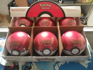 POKEMON POKEBALL COMES WITH 3 BOOSTER PACKS INSIDE BRAND NEW & SEALED!!! $10 EACH for Sale in Pomona, CA