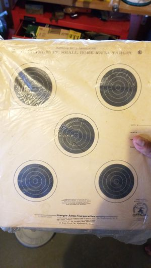 Vintage paper targets for shooting for Sale in Waterbury, CT