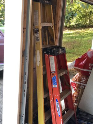 4 foot and 6 foot Werner ladders for Sale in Lancaster, OH