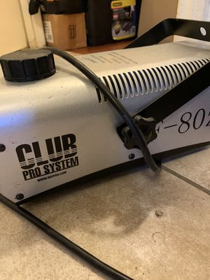 Fog/smoke machine for Sale in Commerce, CA