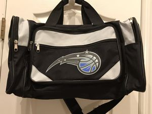 Orlando Magic Duffle bag. for Sale in Clermont, FL