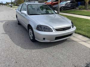 2000 Honda Civic EX 5speed for Sale in Riverview, FL