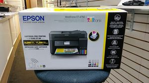 Epson workforce ET-4750 Business all in one printer for Sale in Princeton, NJ