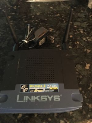 Linksys WRT54GL V7 wireless-G router for Sale in Princeton, WV