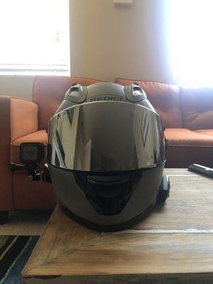 Small Sedici strada motorcycle helmet/Cardo freecom 4+ Bluetooth for Sale in North Las Vegas, NV
