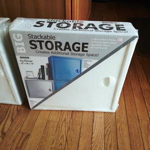Big Cube Stackable Storage for Sale in Norristown, PA