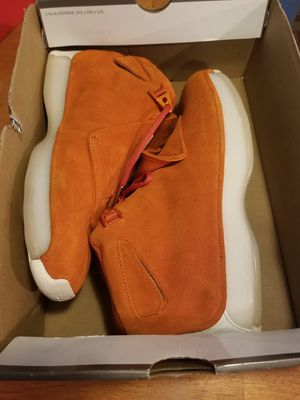 Size 9.5 brand new jordan retro 18 OG half box only tried on serious buyers only please and thanks for Sale in Everett, WA