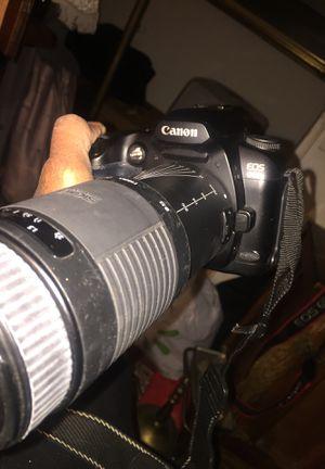 Canon Digital Camera D60. sigma DLLens 75-300 for Sale in Sacramento, CA