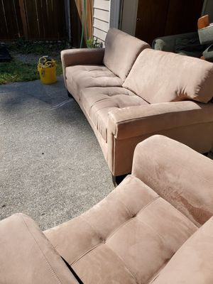 Sofa and chair for Sale in Mountlake Terrace, WA