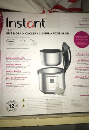 Instant Pot Rice steamer Brand New for Sale in Buena Park, CA