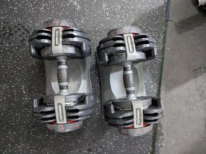 Bowflex SelectTech Dumbbell Pair for Sale in Roseville, MI