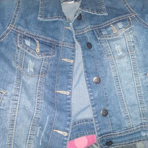 Girls Jean Jacket 7/8 for Sale in Costa Mesa, CA