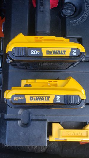 Dewalt 20v batteries brand new 2.0 for Sale in Long Beach, CA