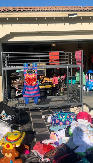 Bunk bed frame only for Sale in Hemet, CA