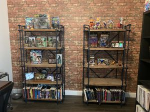 Two industrial farmhouse bookshelves for Sale in Peoria, AZ