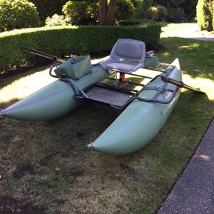 Pontoon Boat - Creek Company ODC XR10 for Sale in Snohomish, WA