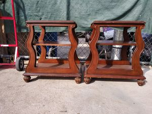 Real wood side tables for Sale in San Bernardino, CA
