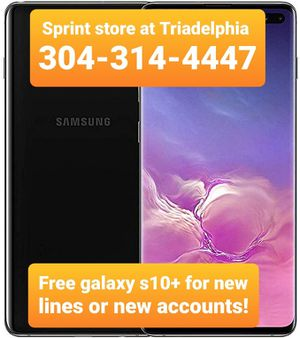 Samsung Galaxy s10+ for Sale in Triadelphia, WV