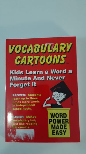 VOCABULARY CARTOONS for Sale in Grand Prairie, TX