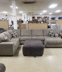 🤞🤞$39 Down Payment. 👈 Platinum RAF Sectional 🚙IN STOCK SAME DAY DELIVERY for Sale in Washington,  DC