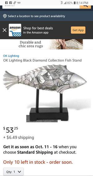 Home Decor Fish Stand for Sale in Warren, MI