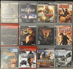 PS3 PlayStation 3 Games for Sale in Chino, CA
