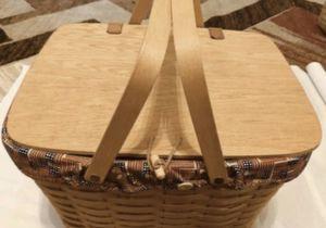 Longaberger picnic basket for Sale in Kent, WA