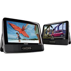 """Philips USA 9"""" Dual Widescreen Portable DVD Player Refurbished for Sale in Miami,  FL"""