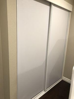 Sliding bedroom closet doors for Sale in Costa Mesa, CA