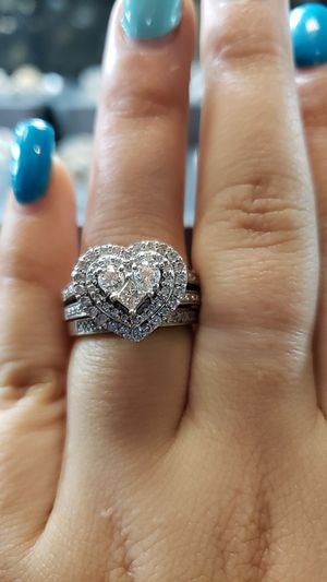 Heart shape diamond ring for Sale in Charlotte, NC