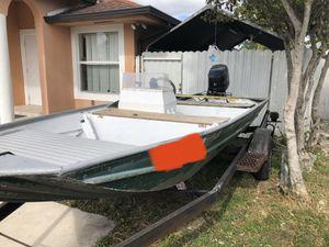 aluminum boat for Sale in Hialeah, FL
