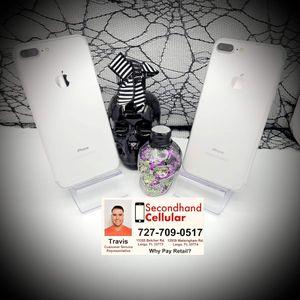 Like New in Box 32GB Silver iPhone 7 Plus CDMA Unlocked *As Little As $0 Down for Sale in Largo, FL