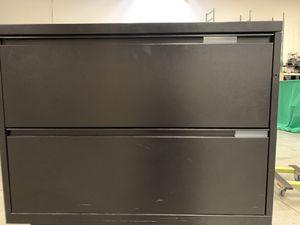 """Meridian black 36"""" filing cabinet for Sale in Denver, CO"""