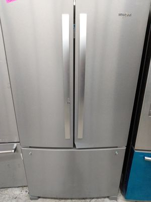 Whirlpool french door refrigerator stainless steel for Sale in Westminster, CA