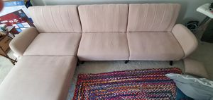 Large couch and tv stand combo - available from 25 june for Sale in Arlington, VA