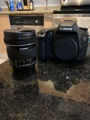 Canon 7D DSLR 10-18mm for Sale in Hallandale Beach, FL