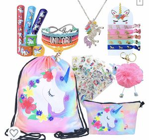 Unicorn Drawstring Backpack/Makeup Bag/Bracelet/Necklace/Hair Ties/Keychain/Sticker for Sale in Kennewick, WA