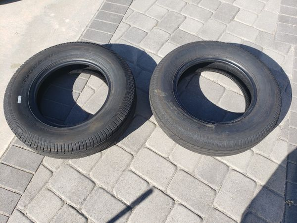 Two Trailer Tires (205/75D15)