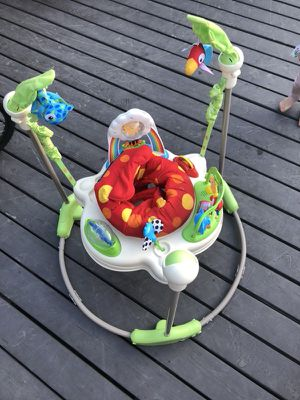 Fisher Price Rainforest Jumperoon baby bouncer for Sale in Santa Monica, CA