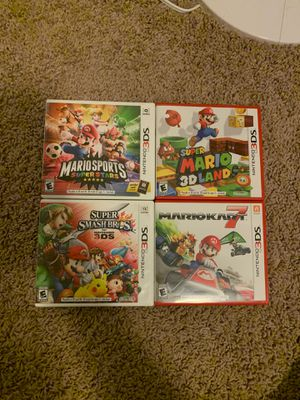 Nintendo 3DS Mario bundle for Sale in Mason, OH