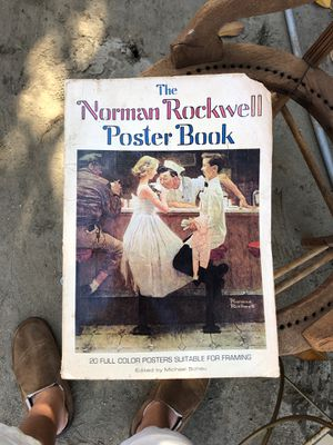 The Norman Rockwell Poster Book for Sale in Hemet, CA