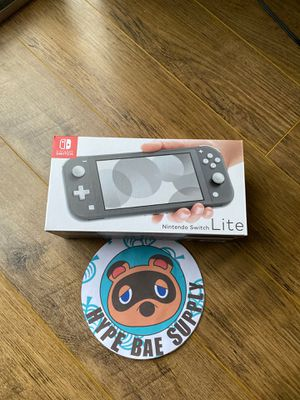 Nintendo Switch Lite Gray - Brand new 100% Authentic for Sale in Riverside, CA