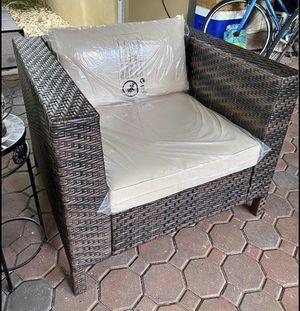 Outdoor Rattan Chair for Sale in St. Petersburg, FL