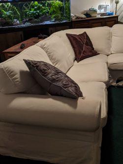 Ikea Ektorp Sofa / Couch - White for Sale in Altamonte Springs,  FL
