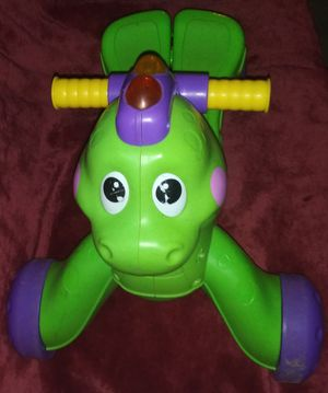 Fisherprice Musical Ride On/Walk Behind Dinosaur for Sale in Mexico, MO