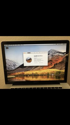 """2009 15"""" MacBook Pro with new battery and 240gb ssd for Sale in Orlando, FL"""