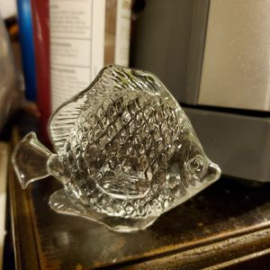 Glass Fish Decoration/Paperweight for Sale in University Place, WA