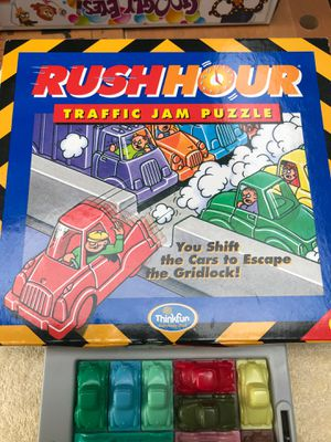 Rush hour traffic jam puzzle Binary arts game for Sale in Lacey, WA