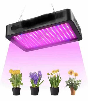 Grow Light, SYOSIN LED Grow Lamps,1000w Full Spectrum Plant Growing Light for Greenhouse Hydroponic and Indoor Veg Plant Flower Growing-Black for Sale in Rancho Cucamonga, CA