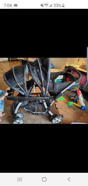 Graco sit n stand double stroller for Sale in San Bernardino, CA